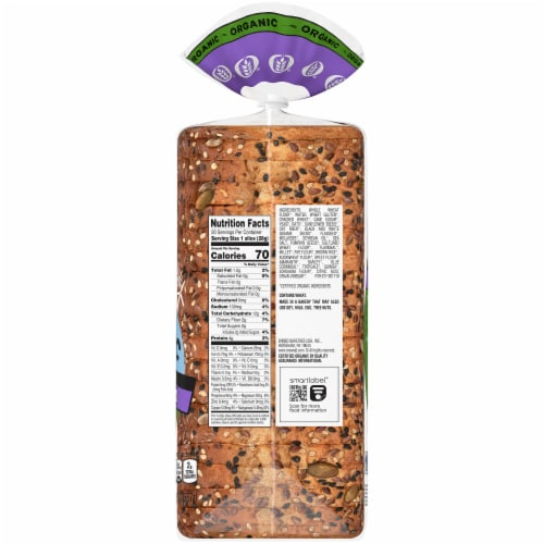 Oroweat Organic Sweet Baby Grains Thin Sliced Bread Perspective: right
