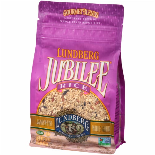 Lundberg Jubilee Whole Grain Brown Rice Perspective: right