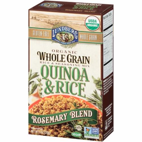 Lundberg Organic Rosemary Whole Grain Quinoa & Rice Blend Perspective: right