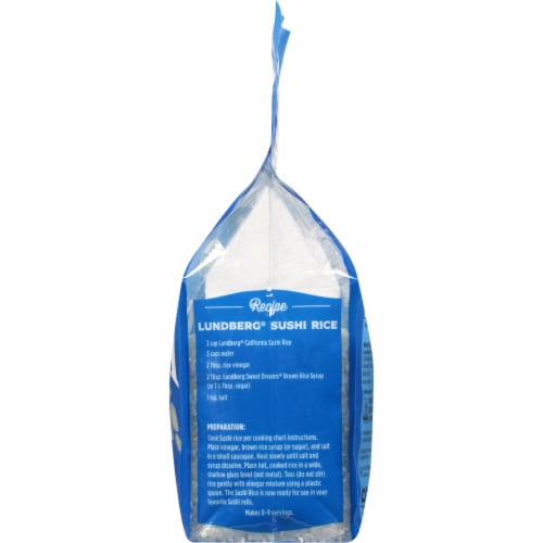 Lundberg Organic California Sushi Rice Perspective: right