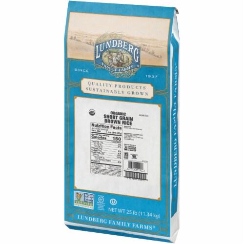 Lundberg Organic Short Grain Brown Rice Perspective: right