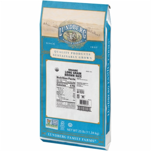 Lundberg Organic Long Grain Brown Rice Perspective: right