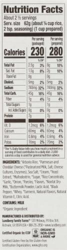 Lundberg Family Farms Organic Creamy Parmesan Risotto Perspective: right