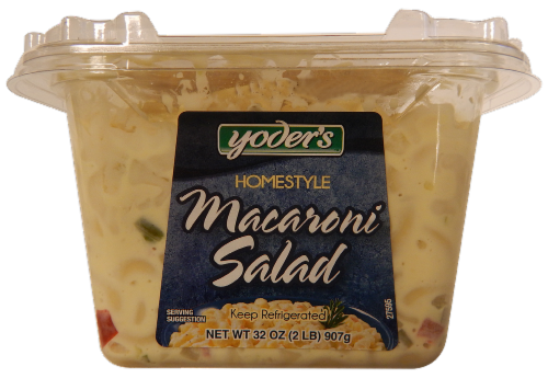 Yoder's Macaroni Salad Perspective: right