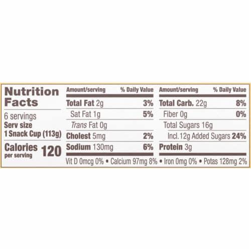 Kozy Shack Original Recipe Tapioca Pudding Perspective: right