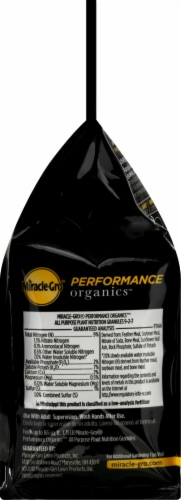 Miracle-Gro Performance Organics All Purpose Plant Nutrition Granules Perspective: right