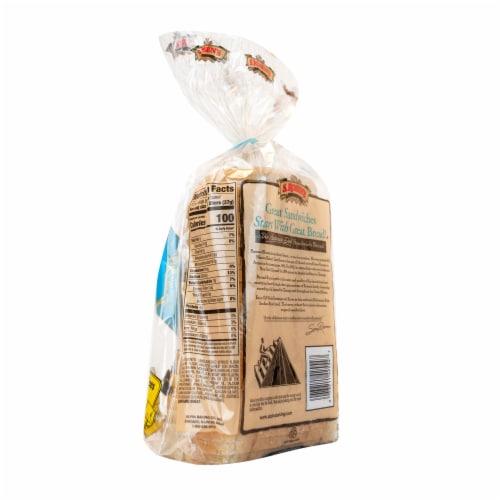 S. Rosen's Bread Thin-Sliced Plain Seedless Rye Bread Perspective: right