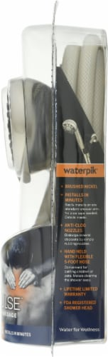 Waterpik® PowerPulse Shower Head Perspective: right