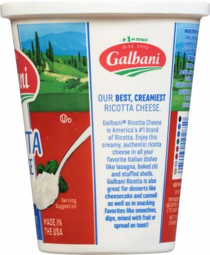 Galbani Part Skim Ricotta Cheese Perspective: right