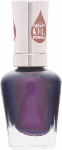Sally Hansen Color Therapy Plum Euphoria Nail Polish Perspective: right