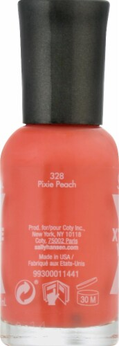 Sally Hansen Xtreme Wear 328 Pixie Peach Nail Color Perspective: right