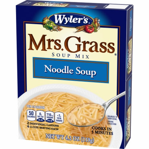 Wyler's Mrs. Grass Noodle Soup Mix Perspective: right