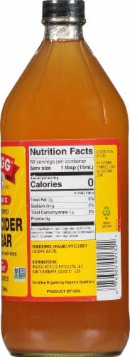 Bragg Organic Apple Cider Vinegar Perspective: right