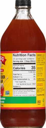 Bragg Apple Cider Vinegar Concentrate Miracle Cleanse Perspective: right