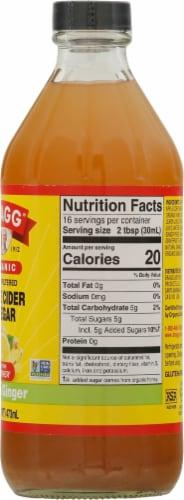 Bragg Organic Citrus Ginger Enhanced Apple Cider Vinegar Perspective: right