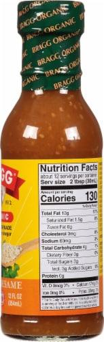 Bragg All Natural Ginger & Sesame Salad Dressing Perspective: right