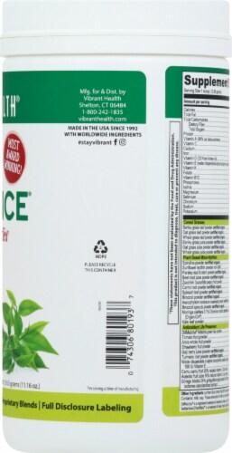 Vibrant Health Green Vibrance Matcha Tea Probiotic Drink Powder Perspective: right
