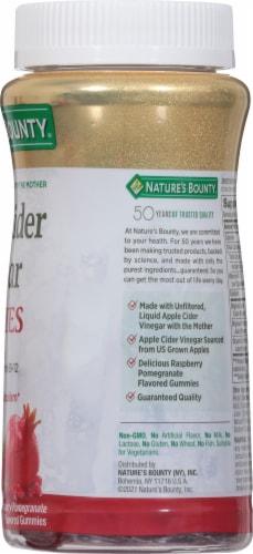 Nature's Bounty® Apple Cider Vinegar Vegetarian Gummies 500mg Perspective: right