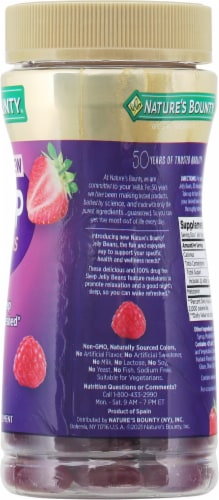 Nature's Bounty® Sleep Jelly Beans Mixed Berry Melatonin Supplement Perspective: right