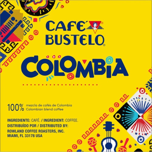 Cafe Bustelo Colombian Coffee K-Cup Pods Perspective: right