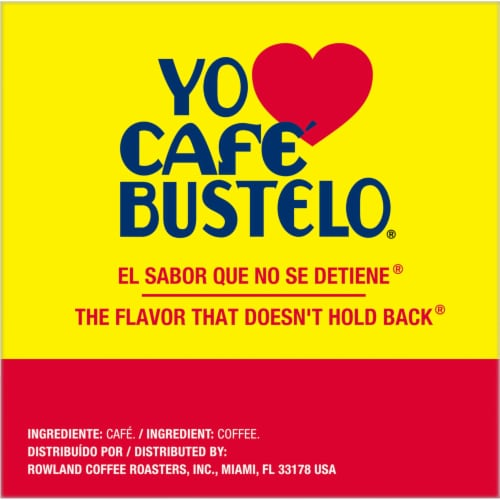 Cafe Bustelo® Espresso Style Coffee K-Cup Pods Perspective: right
