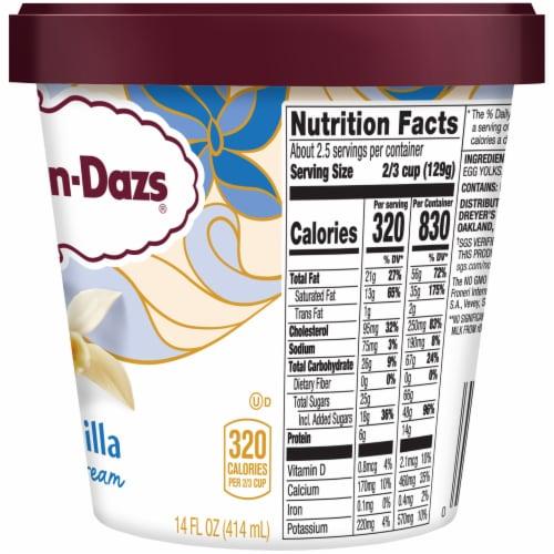 Haagen-Dazs Vanilla Ice Cream Perspective: right