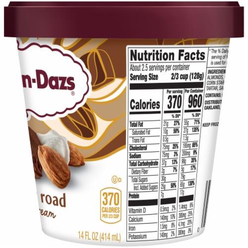 Haagen-Dazs Gluten Free Rocky Road Ice Cream Perspective: right