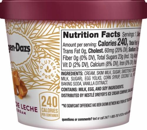 Haagen-Dazs Gluten Free Dulce De Leche Ice Cream Cup Perspective: right