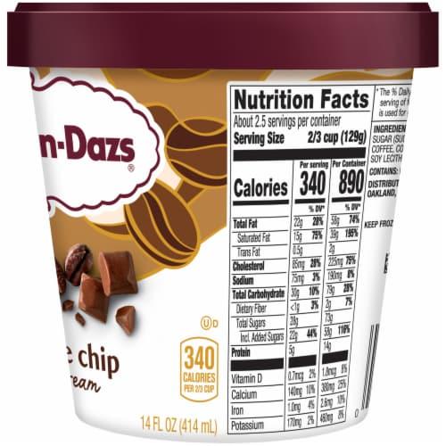 Haagen-Dazs® Gluten Free Coffee Chip Ice Cream Perspective: right