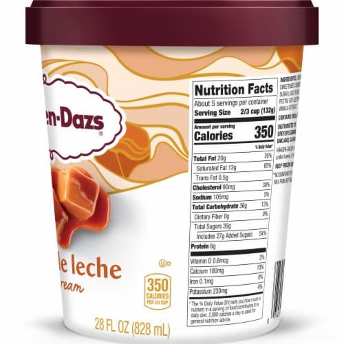 Haagen-Dazs Dulce De Leche Ice Cream Perspective: right