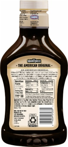 KC Masterpiece Original BBQ Sauce Perspective: right