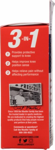 Mueller Sports Medicine 4-Way Stretch Knee Support Perspective: right