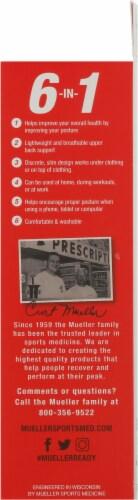 Mueller Sports Medicine Adjustable Posture Corrector Perspective: right