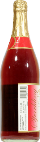 R.W. Knudsen Sparkling Cherry Juice Perspective: right