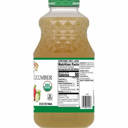 R.W. Knudsen Organic Celery Apple Cucumber Juice Perspective: right
