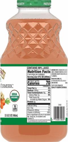 R.W. Knudsen Organic Carrot Ginger Turmeric Juice Perspective: right