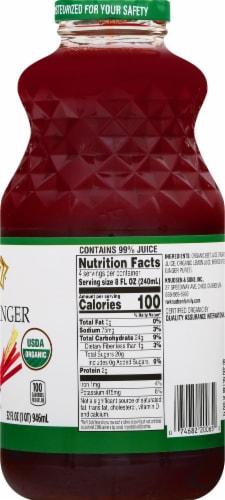 Knudsen Organic Beet Apple Ginger Juice Perspective: right