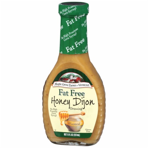 Maple Grove Farms Fat Free Honey Dijon Dressing Perspective: right
