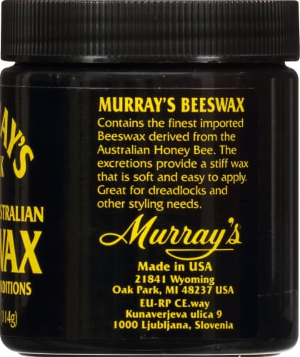 Murray's Black Beeswax Perspective: right