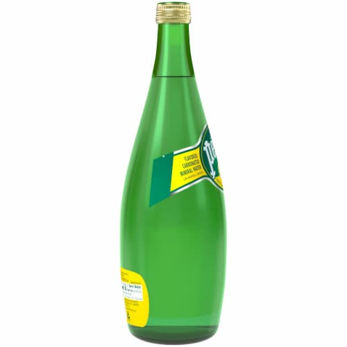 Perrier Lemon Carbonated Mineral Water Perspective: right