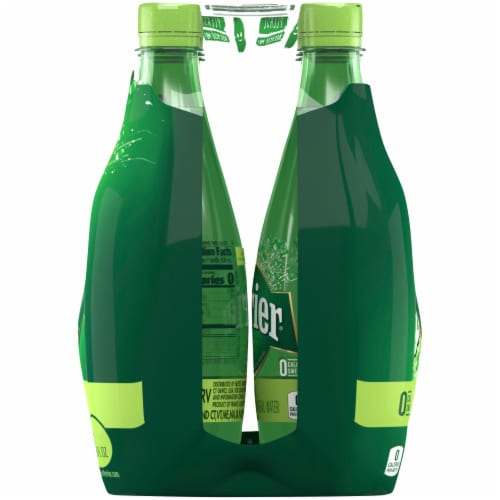 Perrier Lime Sparkling Natural Mineral Water Perspective: right