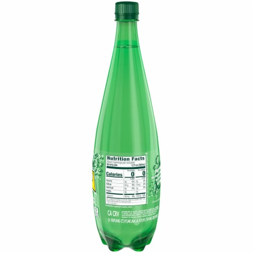 Perrier Sparkling Natural Mineral Water Perspective: right