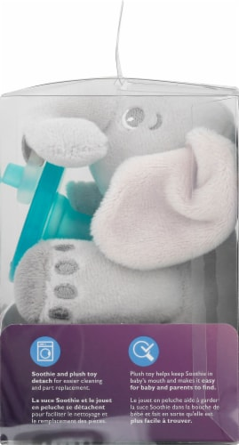 Philips Avent Soothie Snuggle Elephant Plush Perspective: right