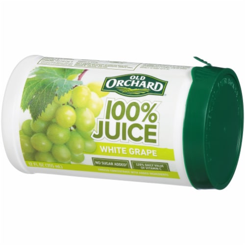 Old Orchard 100% White Grape Juice Perspective: right