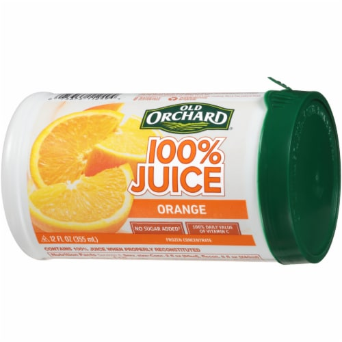 Old Orchard Orange Juice Concentrate Perspective: right