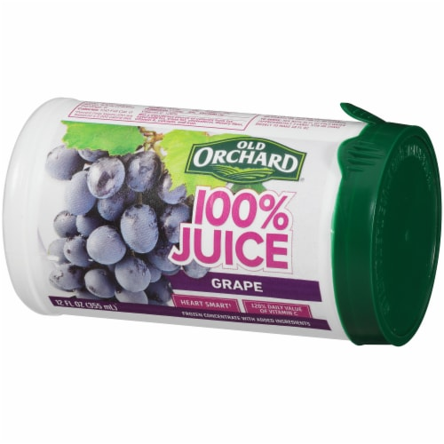 Old Orchard Grape Juice Frozen Concentrate Perspective: right