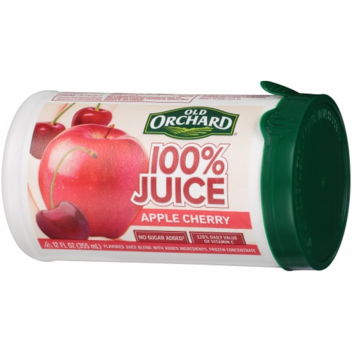 Old Orchard Apple Cherry Juice Concentrate Perspective: right