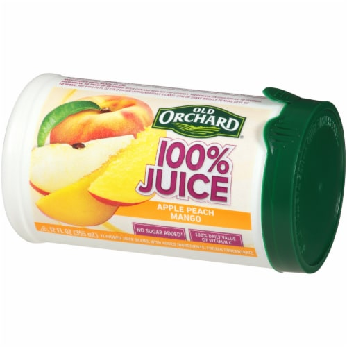 Old Orchard Apple Passion Mango Juice Concentrate Perspective: right