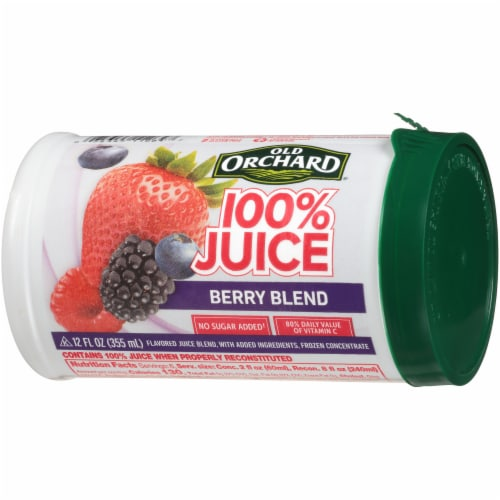 Old Orchard Berry Blend Juice Concentrate Perspective: right