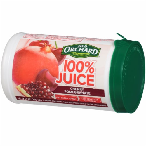 Old Orchard Cherry Pomegranate Juice Concentrate Perspective: right